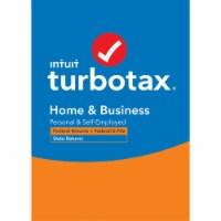 Intuit TurboTax Desktop Home & Business 2020 Federal + Efile & State