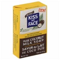 Kiss My Face Pure Coconut Milk Soap Bar