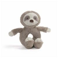 Gund Baby Toothpick Sloth 7 Inch Plush Rattle
