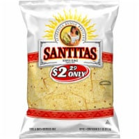 Santitas White Corn Tortilla Chips Snacks Bag