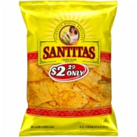 Santitas Yellow Corn Tortilla Chips Snacks Bag