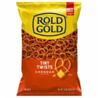Rold Gold Cheddar Cheese Flavored Tiny Twists Pretzels Snacks 10 oz