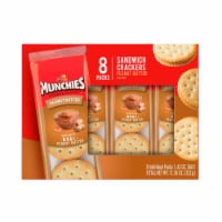 Munchies Peanut Butter Sandwich Snack Crackers