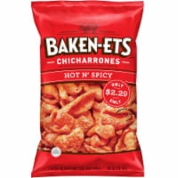 Baken-Ets Hot & Spicy Flavored Fried Pork Rinds Skins Snacks