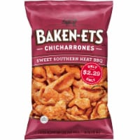 Baken-Ets Sweet Southern Heat BBQ Flavored Fried Pork Rinds Skins Snacks