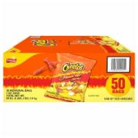 Cheetos® Crunchy Flamin' Hot® Cheese Flavored Snacks - 50 ct / 1 oz