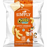 Cheetos Simply White Cheddar Puffs 1.25 ounces (Pack of 64) - 64 Count