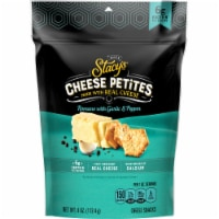Stacy's Cheese Petites Romano with Garlic and Black Pepper Snacks - 4 oz