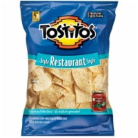 Tostitos Restaurant Style White Corn Tortilla Chips, 16 Ounce -- 4 per case. - 4-16 OUNCE