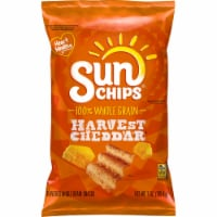 Sun Chips Harvest Cheddar Whole Grain Snacks