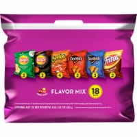 Frito-Lay Flavor Mix Snacks & Potato Chips Variety Pack 18 Count