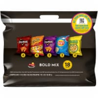 Frito-Lay Bold Snacks & Chips Mix Variety Pack 18 Count