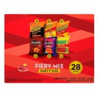 Frito-Lay Spicy Party Mix Snacks & Chips Variety Pack 28 Count