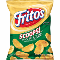 Fritos Scoops! Jalapeno Flavored Corn Chips