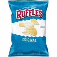 Ruffles Potato Chips Original Flavor Snacks Bag