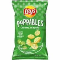 Lay's Poppables Potato Chips Snacks Creamy Jalapeño Flavor Bag