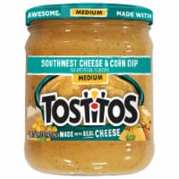 Tostitos Southwest Medium Cheese and Corn Dip
