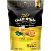 Stacy's Pita Chips White Cheddar Jalapeno Cheese Petites Snacks