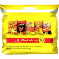 Frito-Lay Flamin' Hot Snacks & Chips Mix Variety Pack
