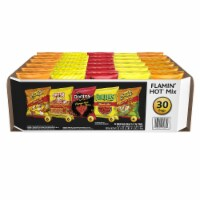 Frito-Lay Flamin' Hot Snacks & Chips Mix Variety Multi Pack 30 Count