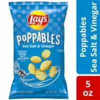 Lay's Poppables Potato Chips Snacks Sea Salt & Vinegar Flavor Bag