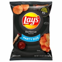 Lay's Potato Chips Barbecue Flavor Snacks 12.5 oz Party Size Bag