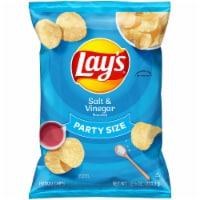 Lay's Salt & Vinegar Flavor Potato Chips Party Size Bag