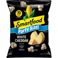 Smartfood White Cheddar Flavored Popcorn Party Size Snacks