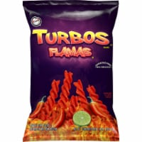 Sabritas Corn Chips Turbo Flamas Flavored Snacks