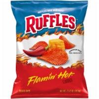 Ruffles Flamin' Hot Flavored Potato Chips