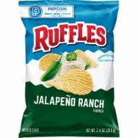 Ruffles Jalapeno Ranch Flavored Potato Chips - 2.5 oz