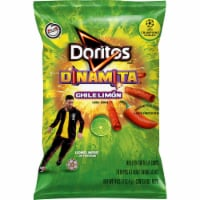 Doritos Dinamita Chile Limon Flavored Rolled Tortilla Chips