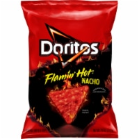 Doritos Flamin' Hot Nacho Flavored Tortilla Chips