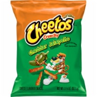 Cheetos Crunchy Spicy Cheddar Jalapeno Flavored Cheese Snacks