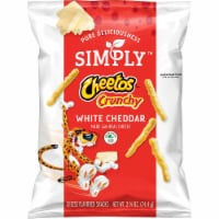 Cheetos Simply Crunchy White Cheddar Cheese Flavored Snacks