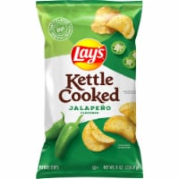 Lay's Kettle Cooked Jalapeño Flavored Potato Chips