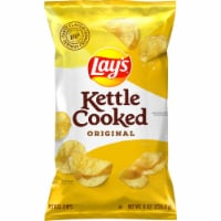 Lay's Kettle Cooked Potato Chips Original Flavor Bag