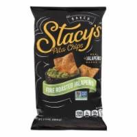 Stacy's Pita Chips Fire Roasted Jalapeno Pita Chips - Case of 12 - 7.33 oz. - Case of 12 - 7.33 OZ each