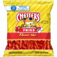Chester's Fries Flamin' Hot Flavored Corn & Potato Snacks