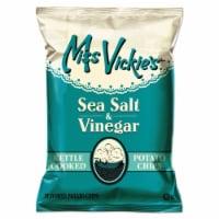 Miss Vickie's Sea Salt & Vinegar Kettle Cooked Potato Chips, 1.375 Oz. Bag, (64 Count) - 64 Count