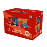 Doritos and Cheetos Mix Snacks Variety Pack, 30 Count - 1 unit