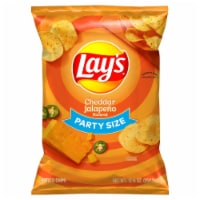 Lay's® Cheddar Jalapeño Flavored Potato Chips - 12.5 oz