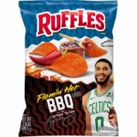 Ruffles Flamin' Hot BBQ Flavored Potato Chips