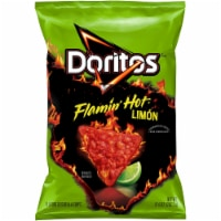 Doritos Flamin' Hot Limon Flavored Tortilla Chips