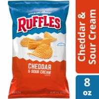 Ruffles Cheddar & Sour Cream Flavored Potato Chips