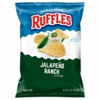 Ruffles Jalapeno Ranch Flavored Potato Chips