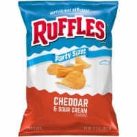 Ruffles Cheddar & Sour Cream Potato Chips Party Size