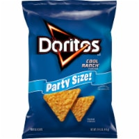 Doritos Cool Ranch Flavored Tortilla Chips Party Size