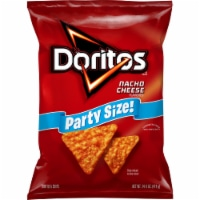 Doritos Nacho Cheese Flavored Tortilla Chips Party Size