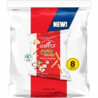 Cheetos® Simply™ Crunchy White Cheddar Cheese Flavored Snacks - 8 ct / 1 oz